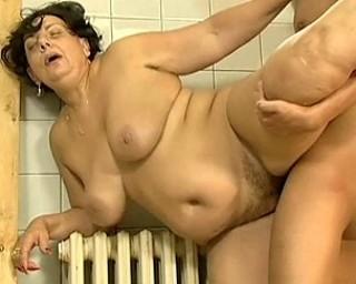 Mature slut fucked at the pool
