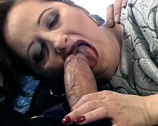Kinky mom sucking and fucking hard