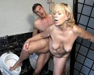 Mature housemaid sucks and fucks