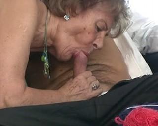 This mature slut sure loves a hard cock