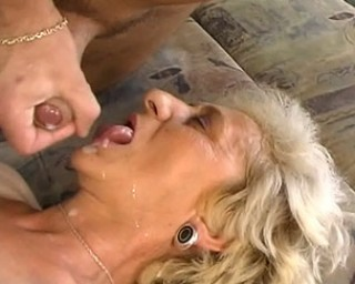 This granny really loves the cock