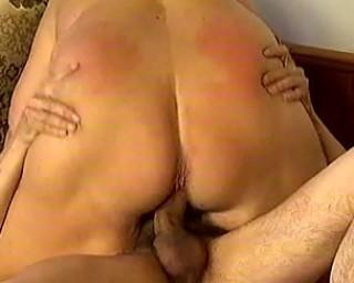 Big breasted mature slut fucking hard
