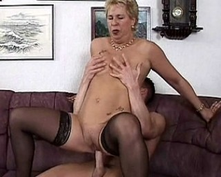 Mature slut fucked by a way younger dude