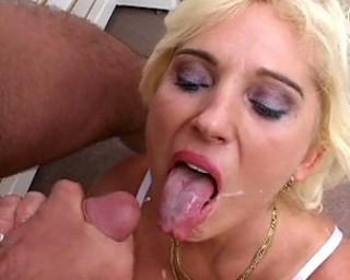 Slut Gets Facial 17